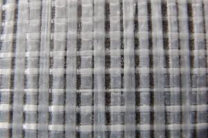 Polyestermylar mit Fasern in Kett- und Schussrichtung