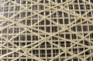 Kevlarmylar für Horizontalschnitt – zwei verschiedene  X-Ply nehmen auch die Diagonalkräfte auf